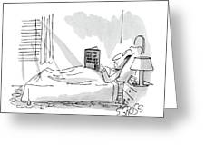 New Yorker September 1st, 1980 Greeting Card
