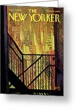 New Yorker September 21st, 1968 Greeting Card