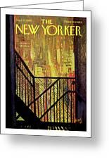 New Yorker September 21st, 1968 Greeting Card