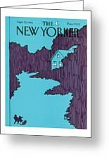 New Yorker September 21st, 1981 Greeting Card