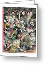 New Yorker September 29th, 1997 Greeting Card