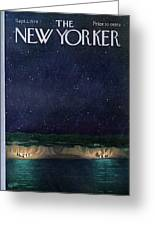 New Yorker September 2nd, 1974 Greeting Card