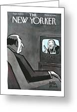New Yorker September 30th, 1950 Greeting Card