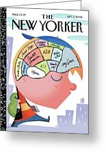 New Yorker September 4th, 2006 Greeting Card