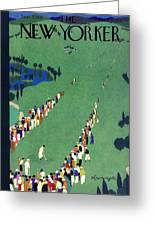New Yorker September 5 1936 Greeting Card