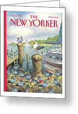 New Yorker September 5th, 1994 Greeting Card