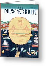 New Yorker September 9th, 1991 Greeting Card