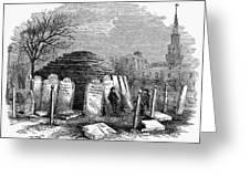 Newark Cemetery, 1876 Greeting Card