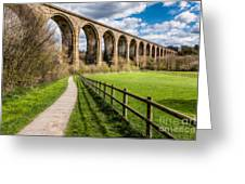 Newbridge Rail Viaduct Greeting Card