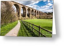 Newbridge Viaduct Greeting Card