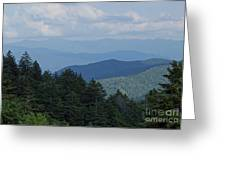 Newfound Gap Greeting Card