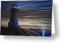 Newfoundland Lighthouse Greeting Card