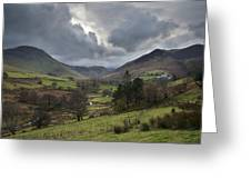 Newlands Valley Lake District National Park Greeting Card