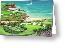 Newport Coast Greeting Card