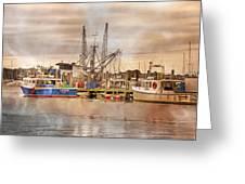 Newport Rhode Island Harbor II Greeting Card