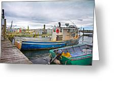 Newport Rhode Island Harbor IIi Greeting Card