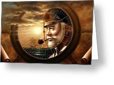 Imperishable Map Captain 1  Greeting Card