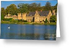 Newstead Abbey Gatehouse Greeting Card