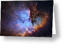 Ngc 281 Starbirth Region, Optical Image Greeting Card