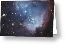 Ngc 602, Starforming Complex Greeting Card