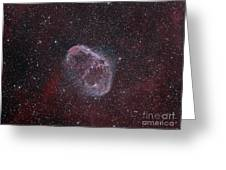Ngc 6888, The Crescent Nebula Greeting Card