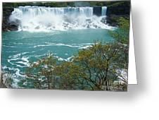 Niagara - American Falls In Spring Greeting Card