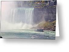 Niagara Falls 4050 Greeting Card