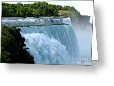 Niagara Falls American Side Greeting Card