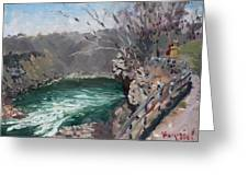 Niagara Falls Gorge Greeting Card