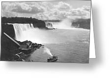 Niagara Falls Maid Of The Mist Greeting Card