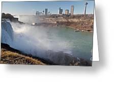 Niagara Falls Panorama Greeting Card