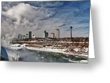 Niagara Falls The City 4534 Greeting Card