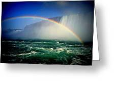 Niagara Rainbow Greeting Card