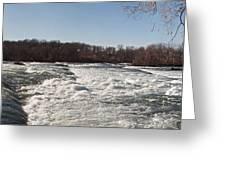 Niagara Rapids Greeting Card