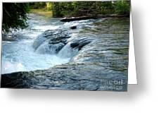 Niagara River Rapids Above Niagara Falls 2 Greeting Card