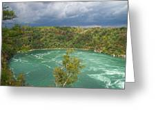 Niagara Whirlpool Greeting Card