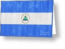 Nicaragua Flag Greeting Card