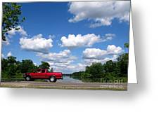 Nice Day For A Drive Greeting Card