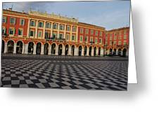 Nice France - The Cheerful Colors Of Place Massena Greeting Card
