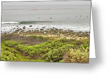 Nicholas Canyon County Beach Greeting Card