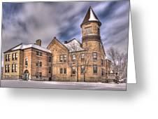 Nicolet School In High Dynamic Range Greeting Card