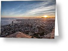 Niebla En Alicante Greeting Card