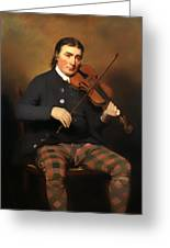 Niel Gow - Violinist And Composer Greeting Card