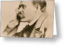 Nietzsche Greeting Card