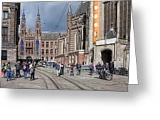 Nieuwe Kerk In Amsterdam Greeting Card