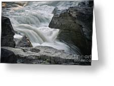 Nigel Creek Cascades Greeting Card