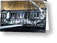 Night At The Library IIi Greeting Card