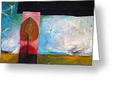 Night Comes Greeting Card