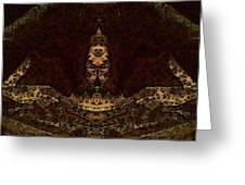 Night Comforter Greeting Card