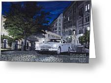 Night Drive Greeting Card